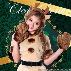 キャンディートナカイ Ladiesミルキーカラーと手触りのいい素材感。可愛いトナカイに変身したいならこれがおすすめ